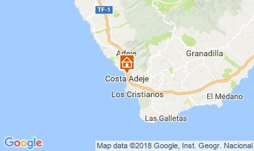 Mappa Playa de las Américas Appartamento 113485