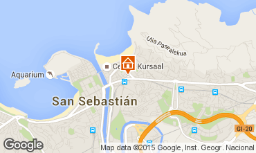 Mappa San Sebastian Monolocale 86907