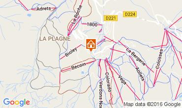 Mappa La Plagne Monolocale 107514
