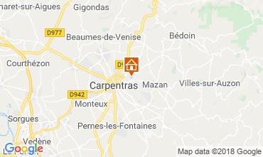 Mappa Carpentras Casa 117417