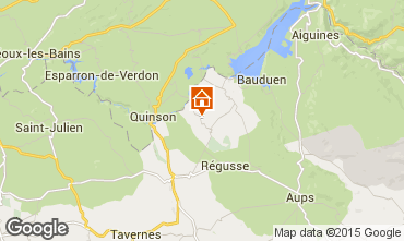 Mappa Artignosc-sur-Verdon Casa 65147