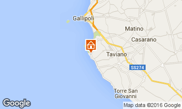 Mappa Gallipoli Villa  102189