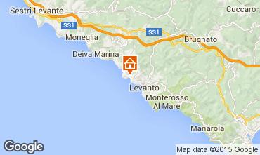 Mappa Bonassola Appartamento 39309
