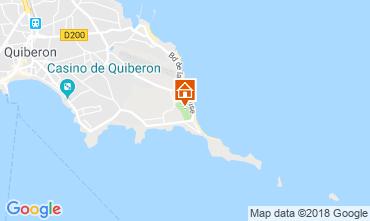 Mappa Quiberon Casa mobile 117587