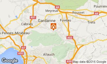 Mappa Aix en Provence Appartamento 21175