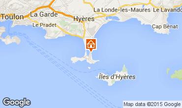 Mappa Hyères Appartamento 5840