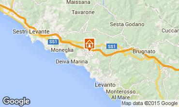 Mappa Deiva Marina Casa 95202