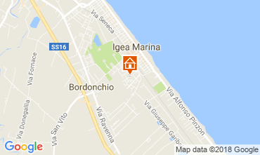 Mappa Bellaria Igea Marina Appartamento 105282
