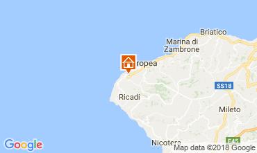 Mappa Tropea Appartamento 113235