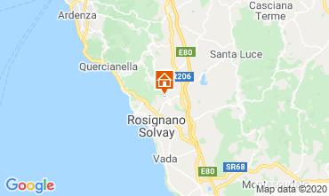 Mappa Rosignano Marittimo Villa  108856