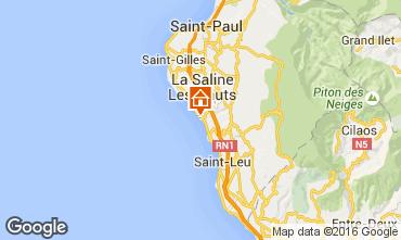 Mappa La Saline les Bains Villa  102826