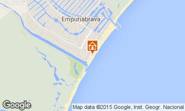 Mappa Empuriabrava Appartamento 56325