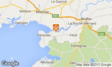 Mappa Pénestin Casa mobile 11803