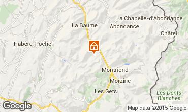 Mappa Saint Jean d'Aulps- La Grande Terche Monolocale 43164