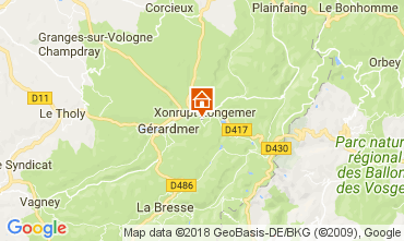 Mappa Xonrupt Longemer Appartamento 113116