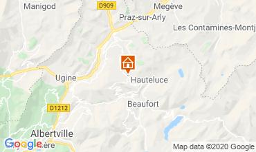 Mappa Les Saisies Appartamento 112224