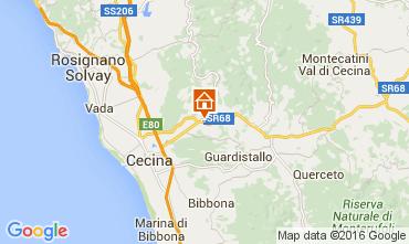 Mappa Cecina Appartamento 58810