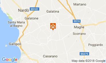 Mappa Casarano Villa  113763