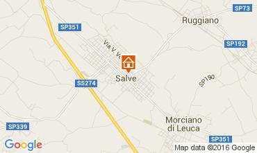 Mappa Pescoluse Casa 105614