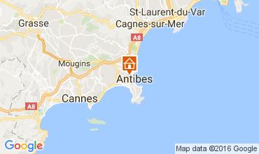 Mappa Antibes Appartamento 106323