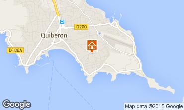 Mappa Quiberon Appartamento 55047