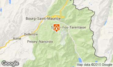 Mappa Les Arcs Appartamento 275