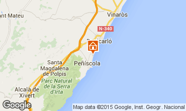 Mappa Peñíscola Monolocale 82503