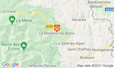 Mappa Serre Chevalier Casa 16150