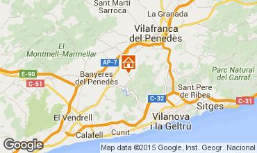 Mappa Sitges Villa  72356