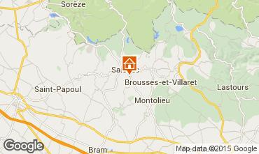 Mappa Carcassonne B&B 99085