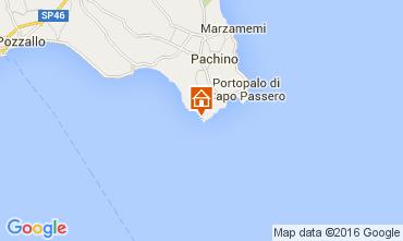 Mappa Portopalo di Capo Passero Villa  105741