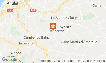 Mappa Hasparren Agriturismo 113436