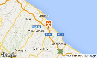 Mappa San Vito Chietino Appartamento 83371