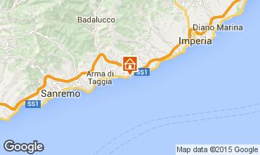 Mappa Santo Stefano al Mare Appartamento 96548