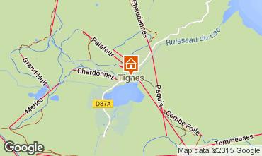 Mappa Tignes Chalet 49760