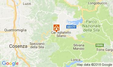 Mappa Camigliatello silano Villa  74845
