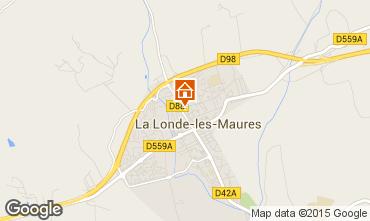 Mappa La Londe les Maures Appartamento 63319