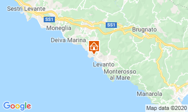 Mappa Bonassola Appartamento 107580