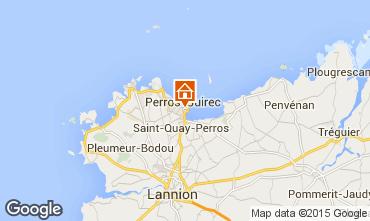 Mappa Perros-Guirec Appartamento 35891