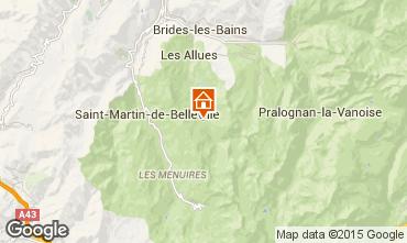Mappa Méribel Appartamento 101098