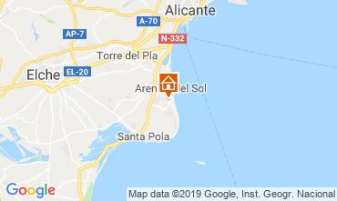 Mappa Santa Pola Casa 117899