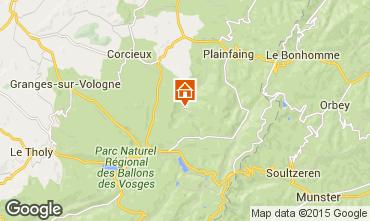 Mappa Gérardmer Chalet 94127
