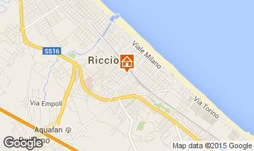 Mappa Riccione Appartamento 99413