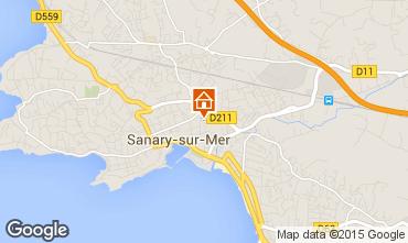 Mappa Sanary Appartamento 60723