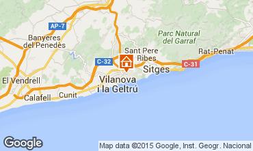 Mappa Barcellona Appartamento 43811