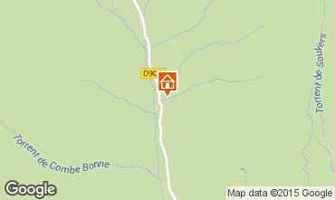 Mappa Arvieux en Queyras Monolocale 536