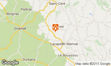 Mappa Rocamadour Agriturismo 79870