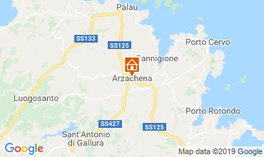 Mappa Arzachena Appartamento 118910