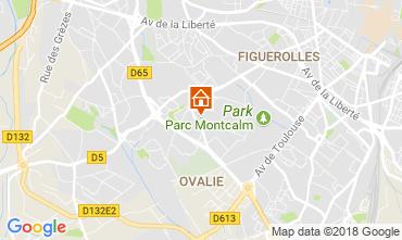 Mappa Montpellier Appartamento 113643