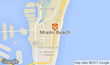 Mappa Miami Beach Monolocale 5335